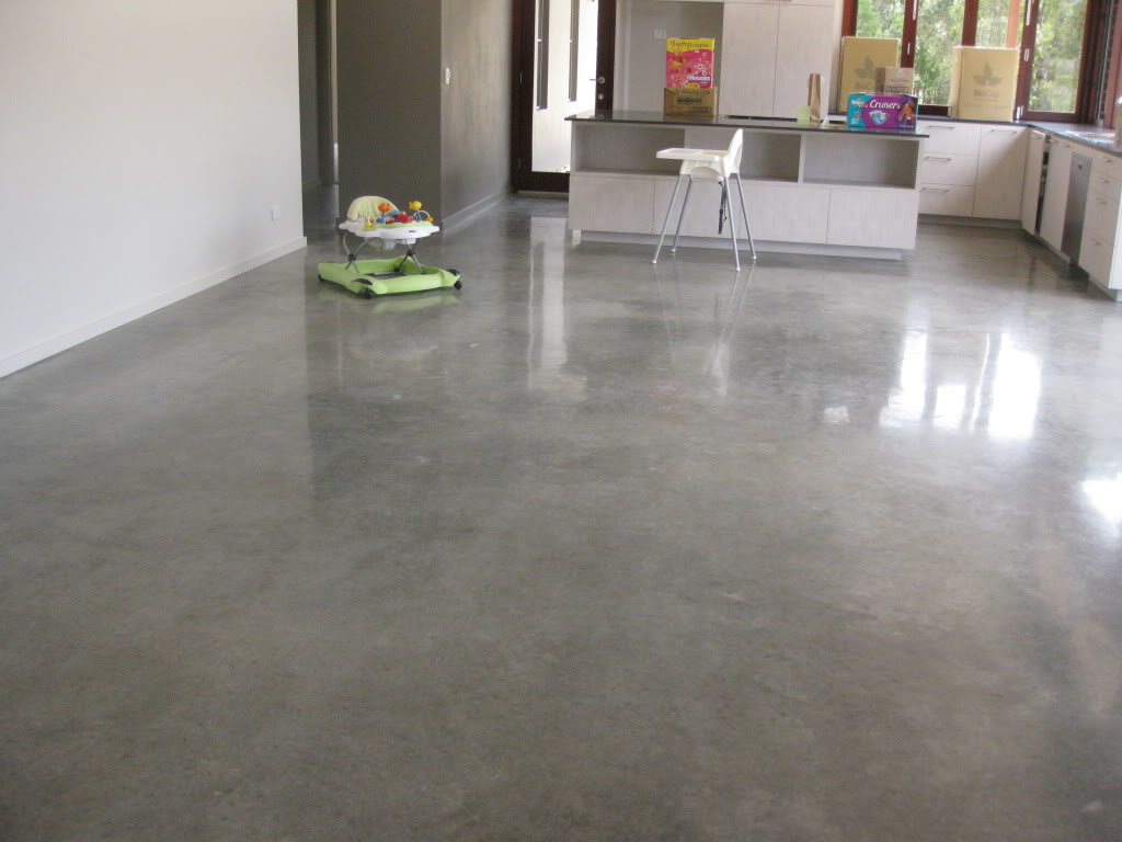 Polished Concrete Floors Art Fair Artists
